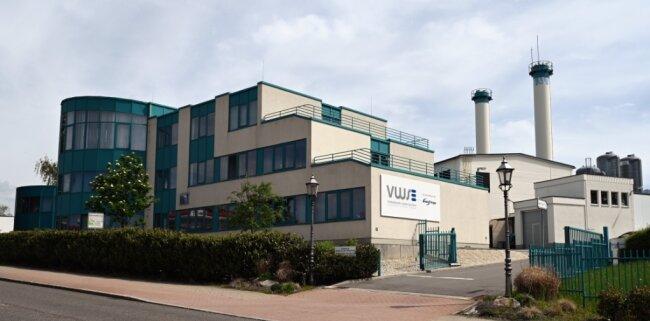 Der Standort der VWS an der Hohensteiner Straße in Stollberg.