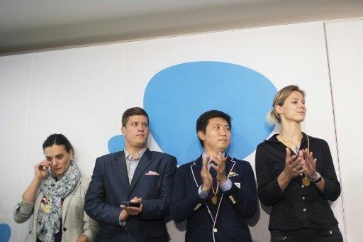 Britta Heidemann (r.) erhält beim IOC nun mehr Einfluss