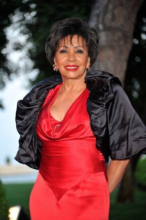 Die britische Sängerin Shirley Bassay 2011 in Monaco.