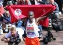 Eliud Kipchoge geht beim Berlin-Marathon an den Start