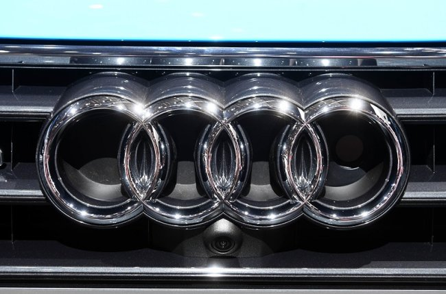 Der Audi Club Vogtland will das Audi-Logo auf dem Platz der Völkerfreundschaft mit Fahrzeugen nachbilden.