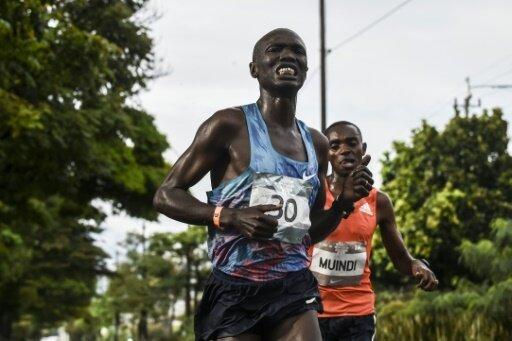 Kiprono wurde bei einem Halbmarathon angefahren.