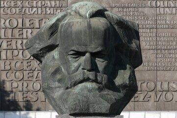 Vor 50 Jahren eingeweiht: das Marx-Monument.