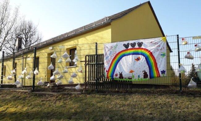 """Die Kapazität der Kita """"Feldmäuse"""" in Kriebstein soll durch An- und Umbau erweitert werden."""