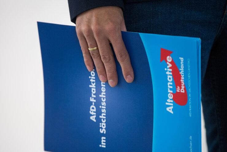 AfD meldet in Sachsen Führungsanspruch an