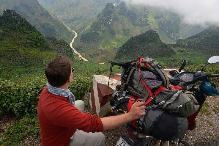 Der Fotojournalist und Buchautor Olaf Schubert zeigt in seinem Vortrag auch beeindruckende Bilder einer Motorradtour durch Nordvietnam.