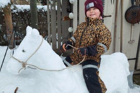 Schnee regt Fantasie an
