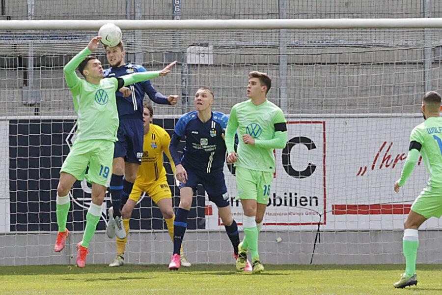 Chemnitzer FC siegt im Testspiel gegen VfL Wolfsburg II