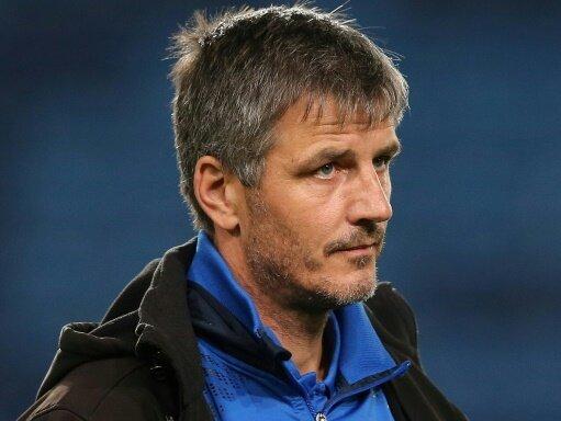 Jens Härtel und der 1. FC Magdeburg sind weiter sieglos