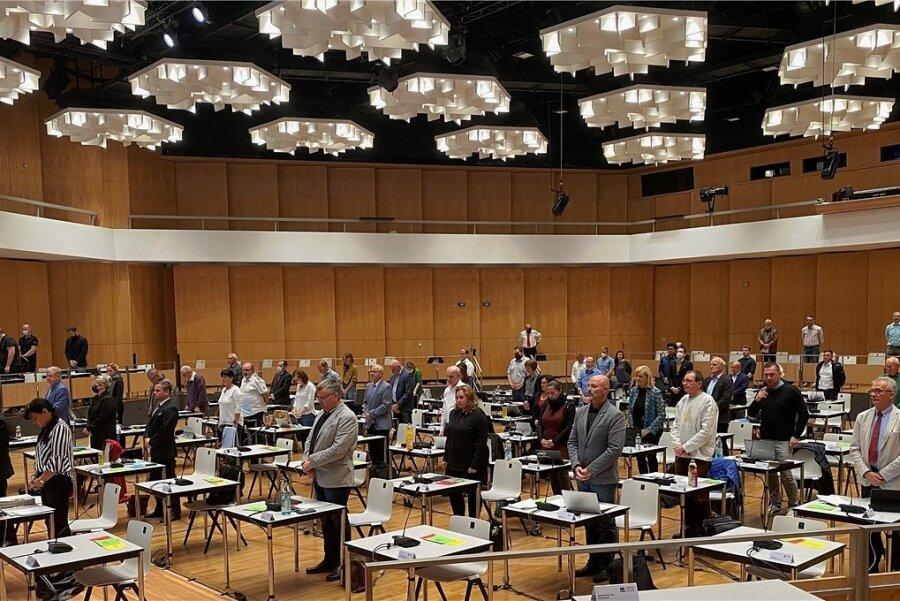 Der Stadtrat tagt am Mittwoch im Carlowitz-Congresscenter.