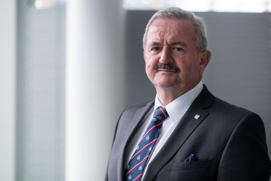 Reimund Neugebauer - Neuer Vorsitzender des Hochschulrates