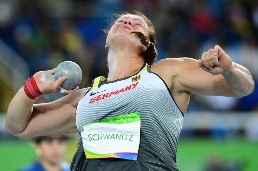 Christina Schwanitz sichert sich am Ende Silber