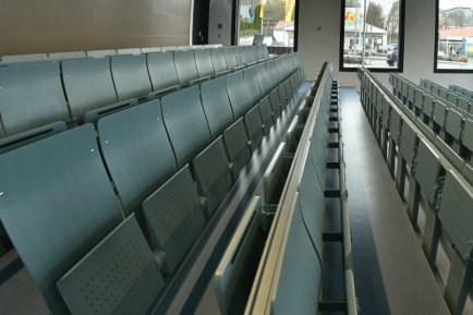 Die Hörsäle der Hochschule Mittweida bleiben mindestens bis Anfang Mai leer.