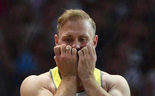 Robert Harting landet am Ende auf dem sechsten Platz