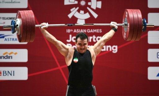 Sohrab Moradi stellt einen neuen Weltrekord auf