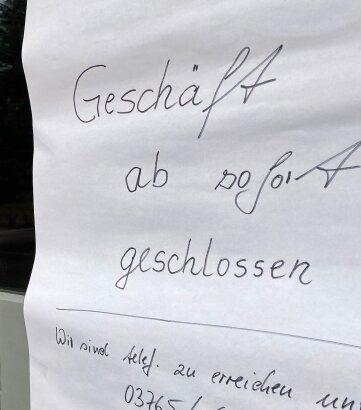 Der Laden in Oberheinsdorf bleibt vorerst zu, aber es gibt Hoffnung auf eine Neueröffnung.