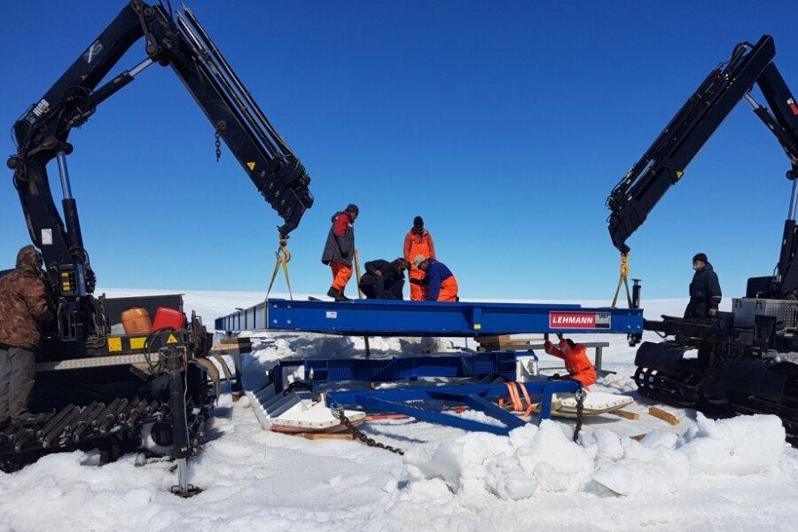 Jocketaer Schlittenkonstruktionen für die Antarktis