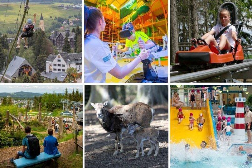 Sommerferien im Erzgebirge: Zehn Ausflugsziele für jedes Wetter