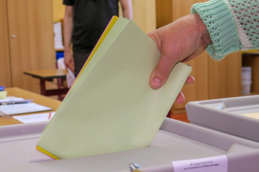 Heinrich Kohl bei OB-Wahl in Aue-Bad Schlema vorn - zweiter Wahlgang