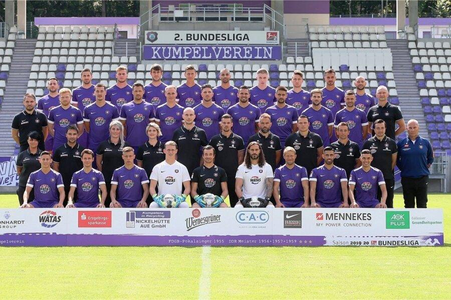 Der FC Erzgebirge Aue der Saison 2019/20