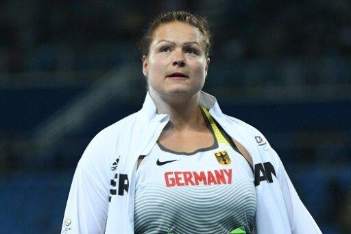 Christina Schwanitz war in einen Autounfall verwickelt.