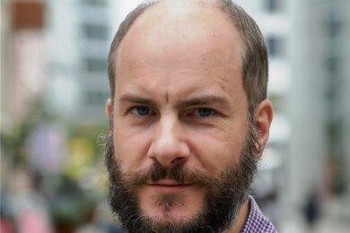 """Martin Kohlmann wurde zum Vorsitzenden der neuen Partei """"Freie Sachsen"""" gewählt."""