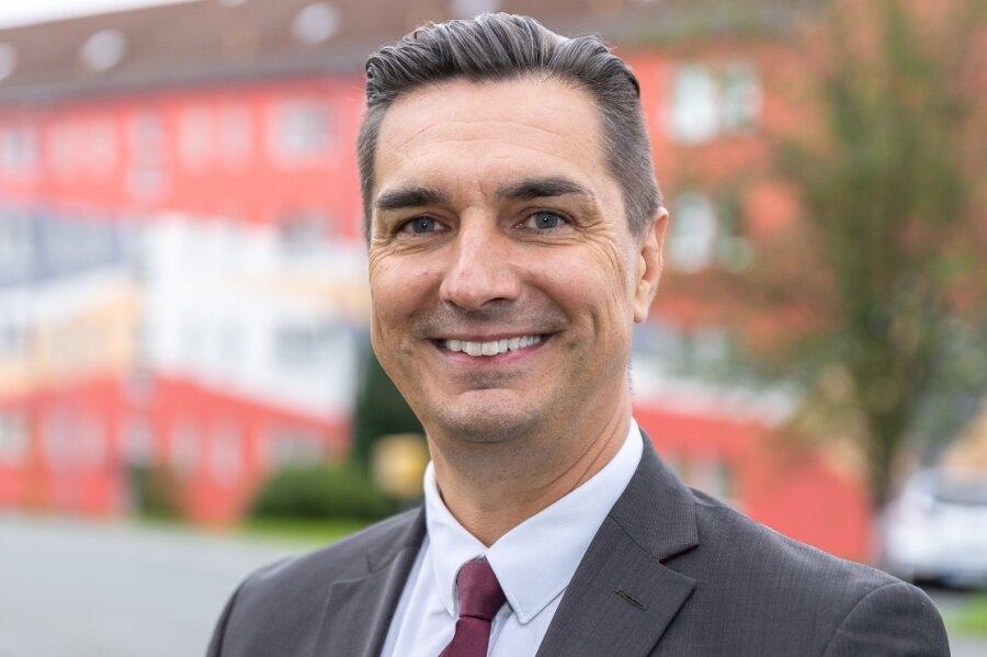 Kay Burmeister (46) geht im Vogtland für die SPD ins Rennen.