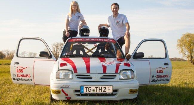 Clara Bettge und Lukas Heinze bilden seit einem Jahr ein Rallye-Duo. Die Premierensaison verlief recht erfolgreich für die 22-Jährigen.