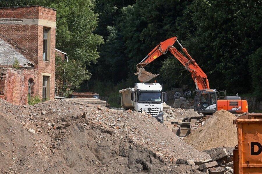 Von den Gebäuden des ehemaligen Fahrzeuggetriebewerks in Glauchau ist nichts mehr zu sehen.