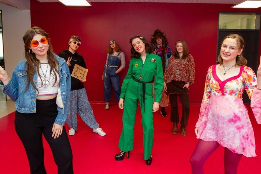 Abschluss im Stile der 1970er
