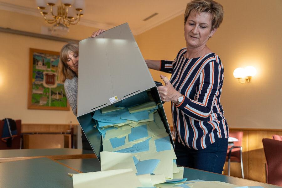 Die Stimmen in Rodewisch sind ausgezählt: Hier gewinnt die CDU.