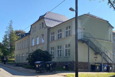 Das Gebäude der Europäischen Oberschule in Waldenburg.