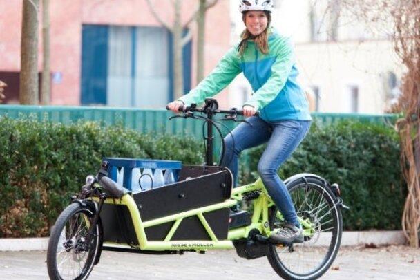 Bergakademie plant Leihservice für Lastenfahrräder