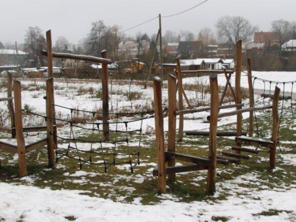 Der Spielplatz in Kunnersdorf ist ein Gemeinschaftsprojekt der Kunnersdorfer Einwohner.
