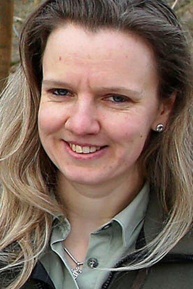 Janina Albrecht - RevierleiterinSachsenforst