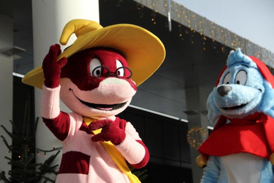 Doc Croc aus der bekannten Zeichentrickserie Simsalagrimm kommt mit seinem fliegenden Märchenbuch in den Gloria Filmpalast nach Annaberg-Buchholz.