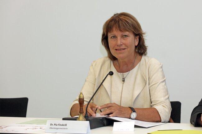 Die Zwickauer OB Pia Findeiß war seit 2008 im Amt.