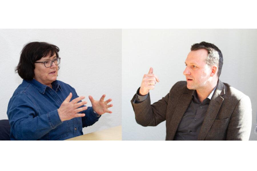 Nach vermeitlicher Allianz mit Drittem Weg: Plauener CDU-Chef diskutiert mit Demokratie-Verein
