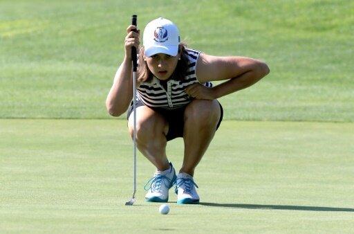 Der EM-Start der Golferinnen verlief nicht perfekt