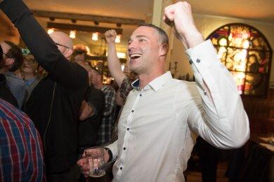 Sebastian Wippel hat den ersten Wahlgang bei der OB-Wahl in Görlitz gewonnen.