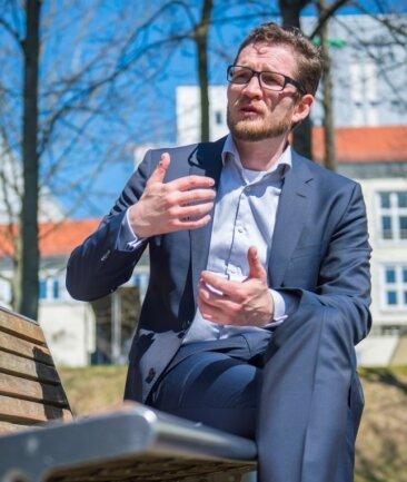 Marcel Koch ist bisher Geschäftsführer des Helios-Klinikums Aue gewesen.