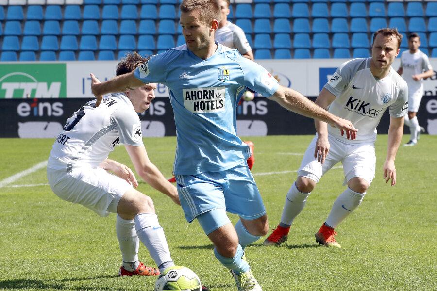 Chemnitzer FC verliert trotz Überzahl gegen Meppen