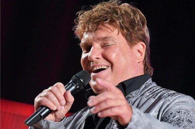 Der Sänger Frank Schöbel tritt am 7. Dezember in der Annaberg-Buchholzer Festhalle auf.