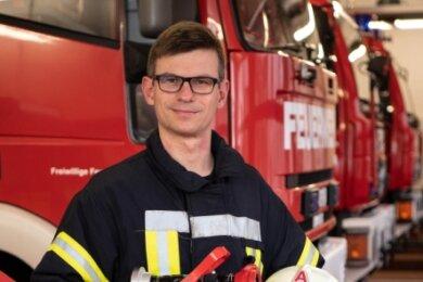 Jens Eidam lenkt die Kameraden der Peniger Feuerwehr maßgeblich mit durch die Coronakrise. Dabei kommen ihm seine Erfahrungen als Sicherheitsingenieur im Getriebewerk Flender zu Gute.