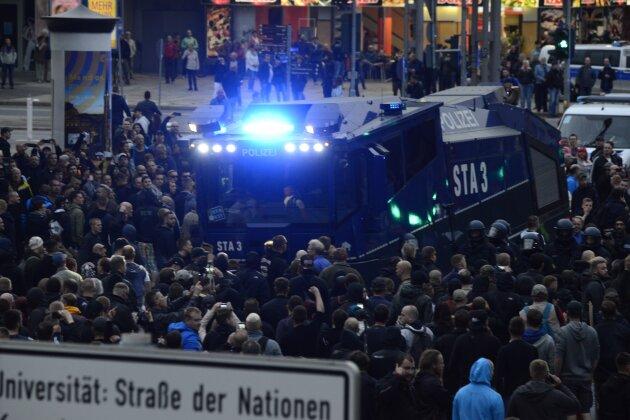 Liveticker: Tausende bei Demonstrationen in Chemnitz