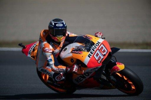 Alter und neuer MotoGP-Weltmeister: Marc Marquez