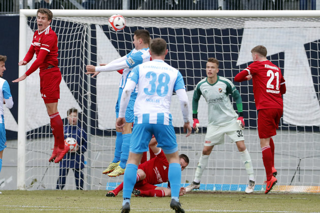 Chemnitzer FC gewinnt gegen Halberstadt