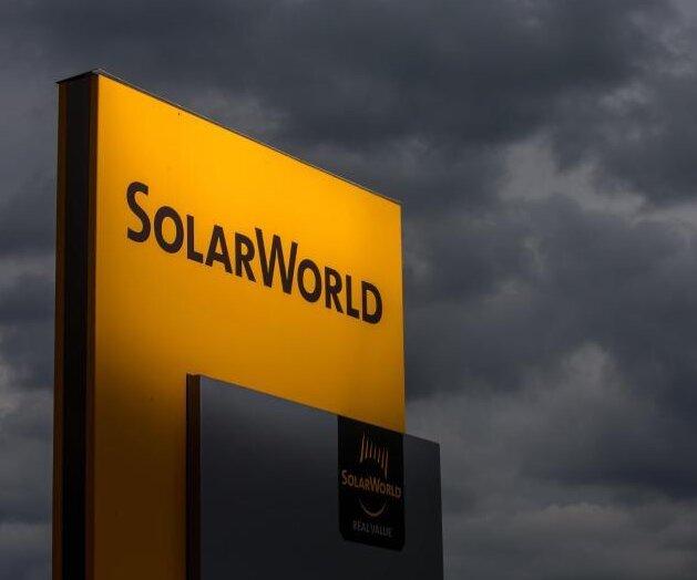 Solarworld: Produktion läuft mit 150 Leuten weiter