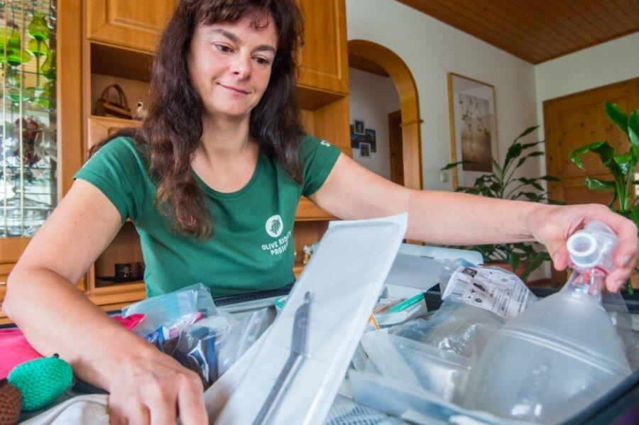 Cindy Riedel aus Neukirchen will als Freiwillige auf einer Schildkrötenauffangstation auf den Malediven arbeiten.