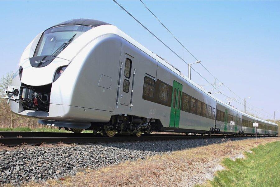 So sehen die neuen Züge aus - die Batterien fehlen hier noch.